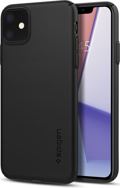 Spigen ochranný kryt Thin Fit Air pro iPhone 11, černá
