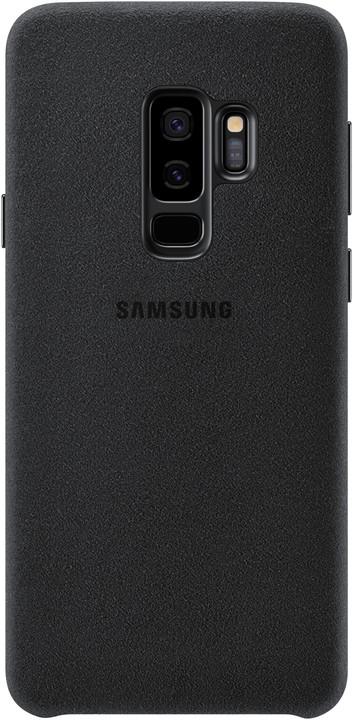 Samsung zadní kryt - kůže Alcantara pro Samsung Galaxy S9+, černý