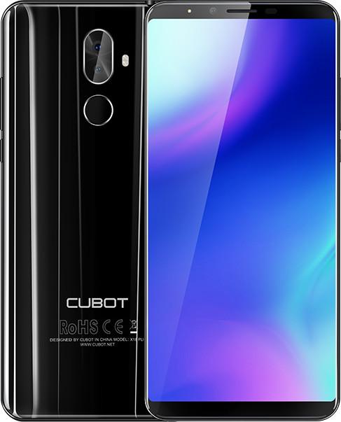 CUBOT X18 Plus - 64GB, černá