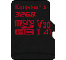 Kingston Micro SDHC Canvas React 32GB 100MB/s UHS-I U3 - SDCR/32GBSP