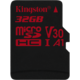 Kingston Micro SDHC Canvas react 32GB 100MB/s UHS-I