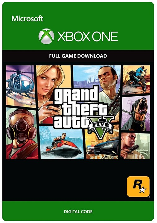 Grand Theft Auto V (Xbox ONE) - elektronicky
