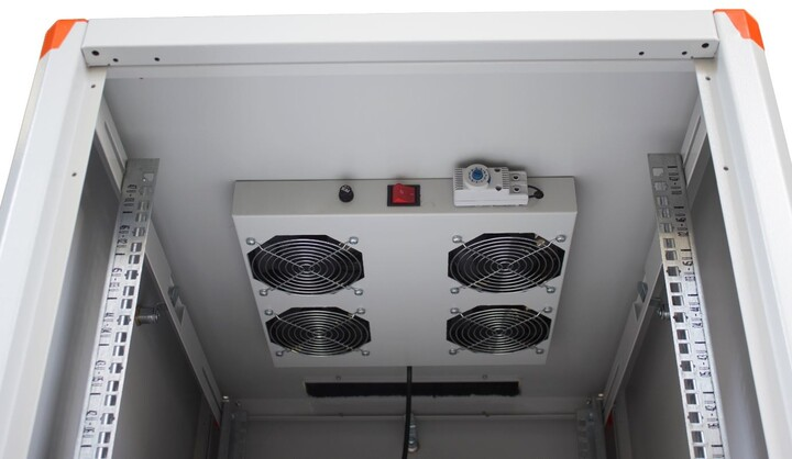 Legrand EvoLine 4x ventilátor + termostat - stropní