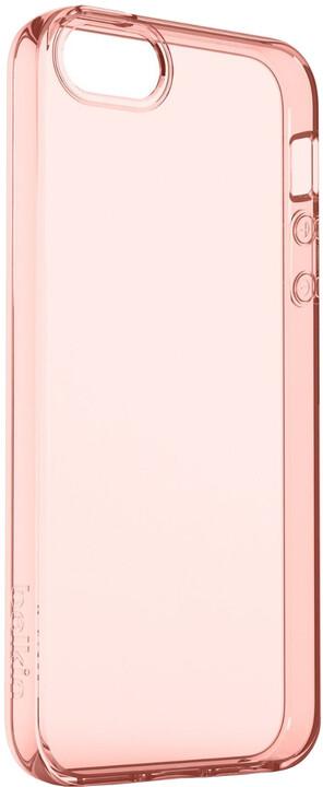 Belkin iPhone SE pouzdro Air Protect, průhledné růžové