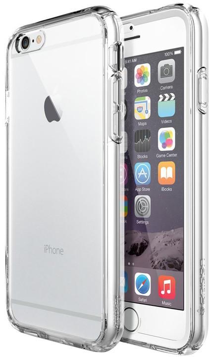Spigen pouzdro Ultra Hybid FX pro iPhone 6, průhledná