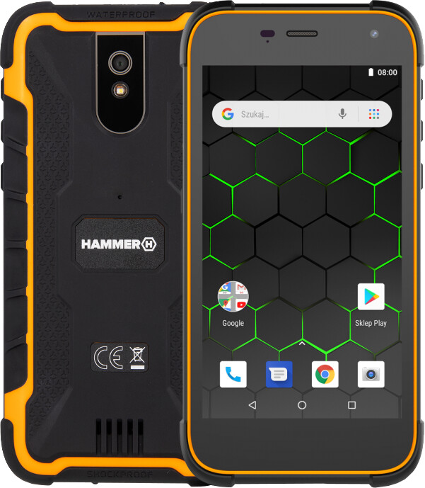 myPhone Hammer Active 2, 2GB/16GB, Orange