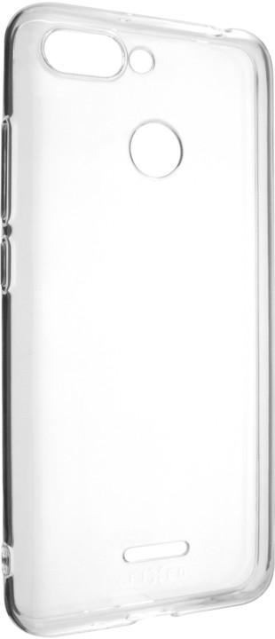 FIXED Skin ultratenké TPU gelové pouzdro pro Xiaomi Redmi 6, čiré
