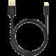 AXAGON BUMM-AM30QB, HQ Kabel Micro USB - USB A, datový a nabíjecí 2A, černý, 3 m