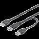 PremiumCord USB, napájecí Y, A/M -- A/M + A/F 0.3m