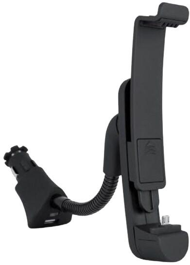 Fontastic autonabíječka s držákem, USB, černá