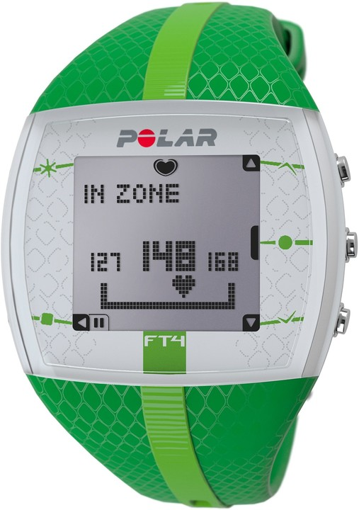 Polar FT4, zelená