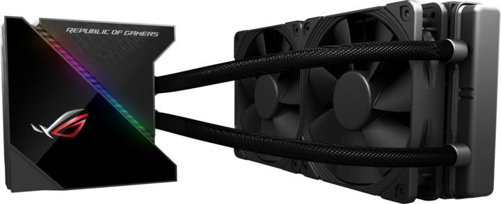 ASUS ROG RYUJIN 240, 2x120mm, RGB Aura Sync