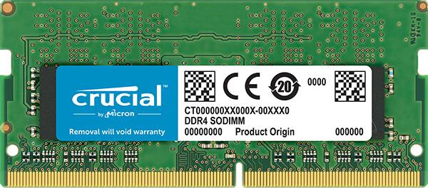 Crucial 4GB DDR4 2666 SO-DIMM