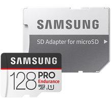 Samsung Micro SDXC 128GB PRO Endurance UHS-I + SD adaptér