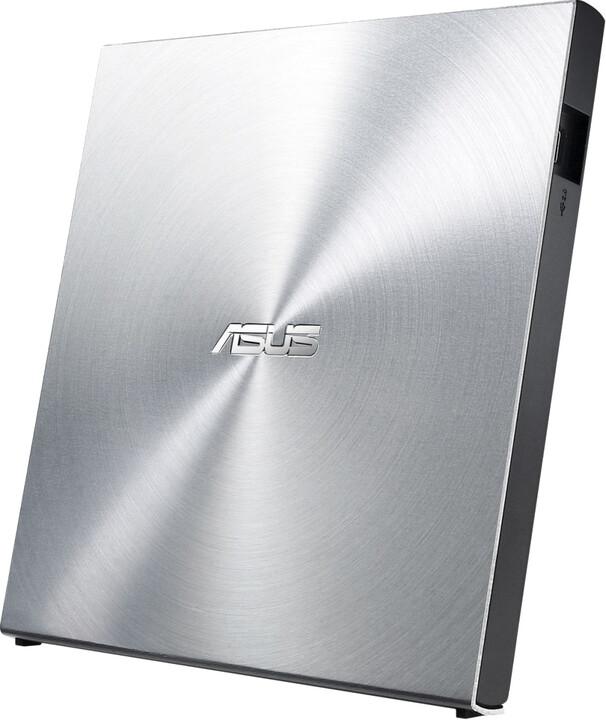 ASUS SDRW-08U5S-U, stříbrná