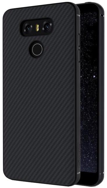 Nillkin Synthetic Fiber Ochranný Zadní Kryt Carbon pro LG G6, Black