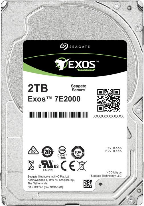 """Seagate Exos 7E2000, 2,5"""" - 2TB"""