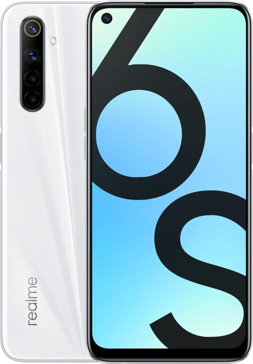 realme 6s, 4GB/64GB, White