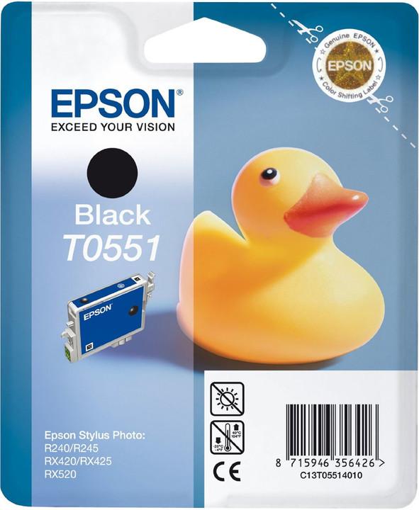 Epson C13T055140, černá