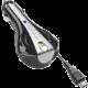CellularLine autonabíječka s navíjecím kabelem microUSB