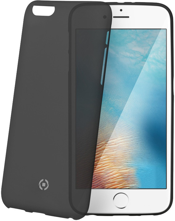 CELLY Frost pouzdro pro Apple iPhone 7 Plus, 0,29 mm, černá