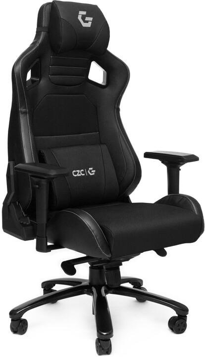 CZC.Gaming Throne, herní židle, černá
