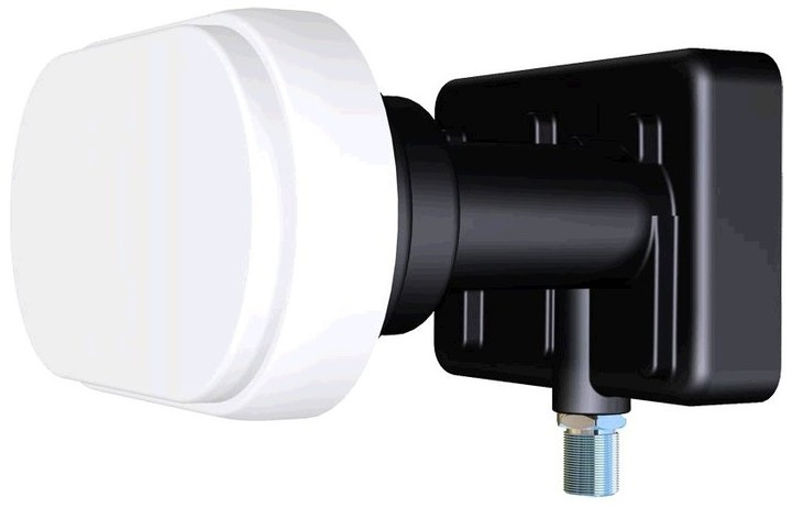 LNB konvertor Inverto Black Pro monoblok single 4,3° 0,2 dB