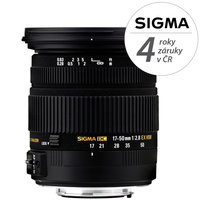 SIGMA 17-50/2.8 EX DC OS HSM Nikon SI 583955