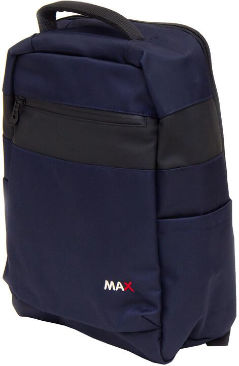 "MAX batoh na notebook 15,6"", modrá"