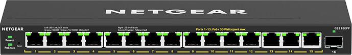 NETGEAR Plus GS316EPP