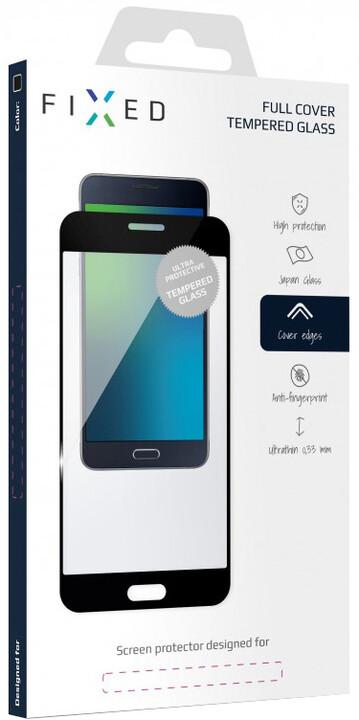 FIXED Full-Cover ochranné tvrzené sklo pro Motorola Moto G5S, přes celý displej, černé