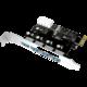 ICY BOX IB-AC614a USB 3.0 PCI-E Expansion Card with 4x USB 3.0 port  + Voucher až na 3 měsíce HBO GO jako dárek (max 1 ks na objednávku)