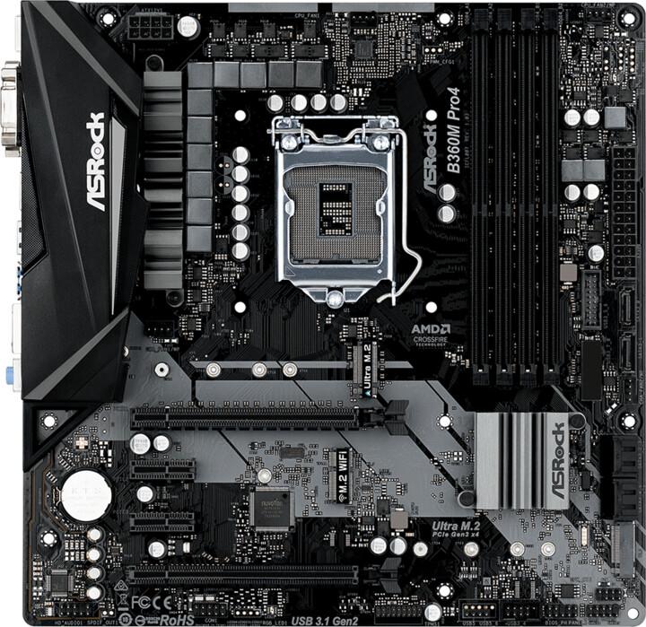 ASRock B360M Pro4 - Intel B360
