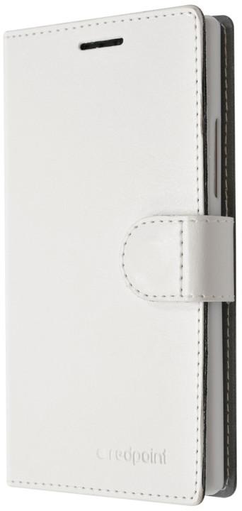 "FIXED flipové pouzdro pro ASUS ZenFone GO 4,5"" (ZB452KG), bílá"