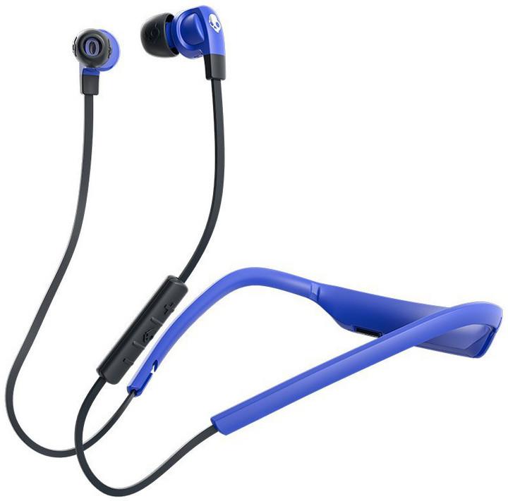 Sluchátka Skullcandy Smokin Bud 2 Wireless, špunty, street/modrá