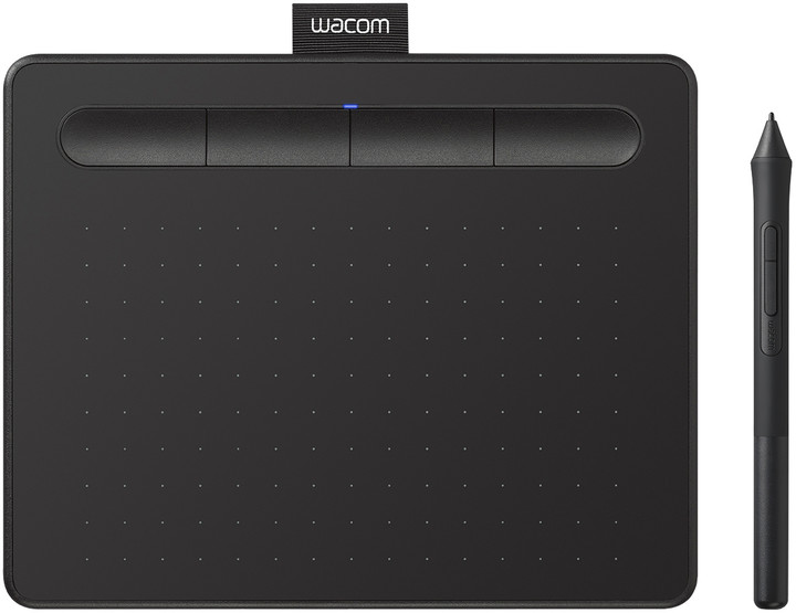 Wacom Intuos S Bluetooth, černá