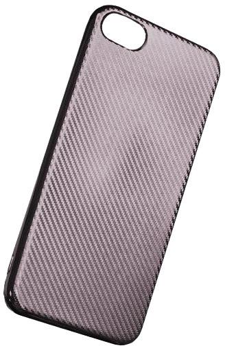 Forever silikonové (TPU) pouzdro pro Samsung Galaxy S8, carbon/stříbrná