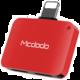 Mcdodo Lightning To Dual Lightning Adapter 5V, 1A (29x20x7,6 mm), Red