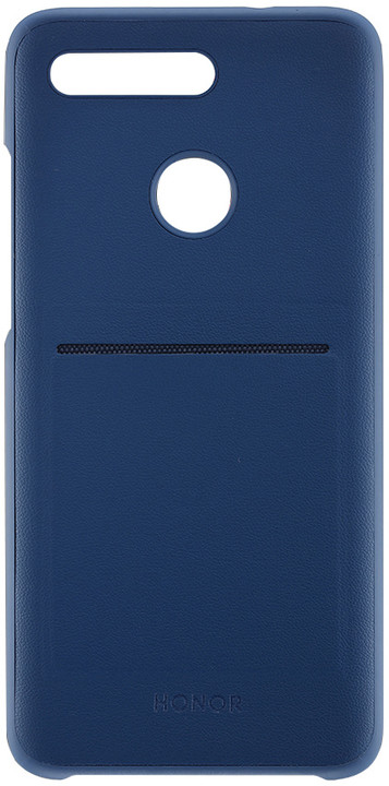 HONOR V20 wallet case, modrá