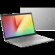 ASUS VivoBook 14 K413EA (11th gen Intel), stříbrná