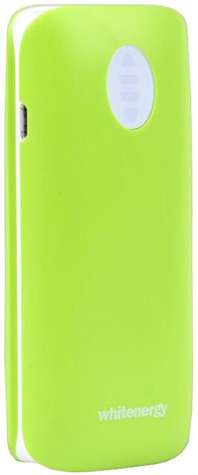 Whitenergy Power Bank 4000mAh 2.1A Li-Ion, zelená