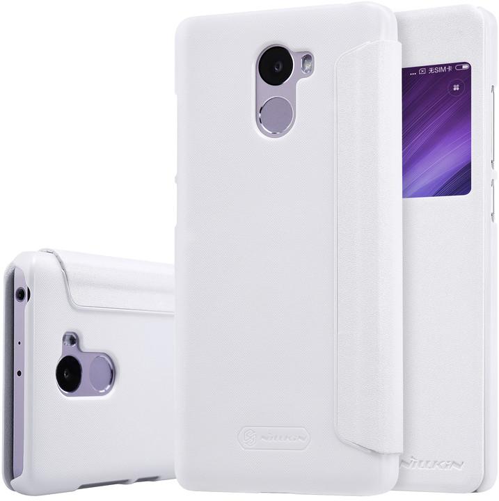 Nillkin Sparkle Leather Case pro Xiaomi Redmi 4, bílá