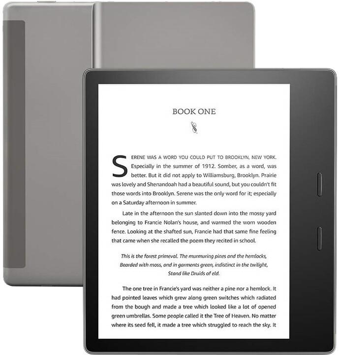 Amazon Kindle Oasis 3 2019, 8GB, černá - sponzorovaná verze