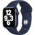 Apple řemínek pro Watch Series, sportovní, 40mm, tmavě modrá