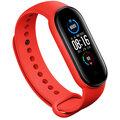 Epico silikonový náramek pro Xiaomi Mi Band 5/6, červená