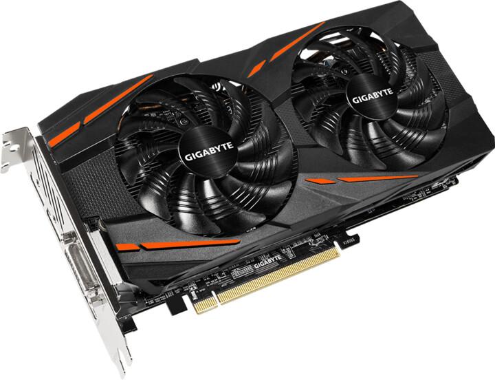 GIGABYTE Radeon RX 580 Gaming 4GB, 4GB GDDR5