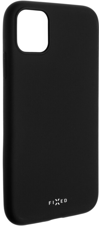 FIXED Story zadní pogumovaný kryt pro Apple iPhone 11 Pro, černá