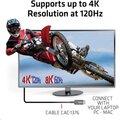 Club3D kabel HDMI AOC, M/M, 4K@120Hz, 8K@60Hz, High Speed, 10m, černá