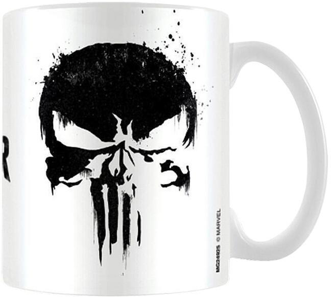 Hrnek Marvel: Punisher - Skull, 315 ml