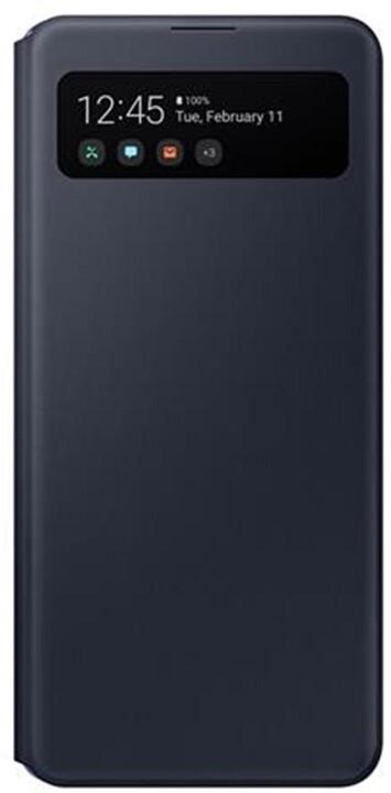 Samsung flipové pouzdro S View pro Samsung Galaxy A41, černá